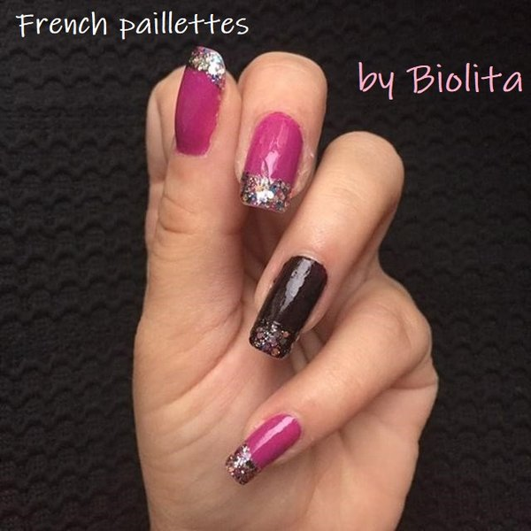 french paillettes biolita liger beauty nail art