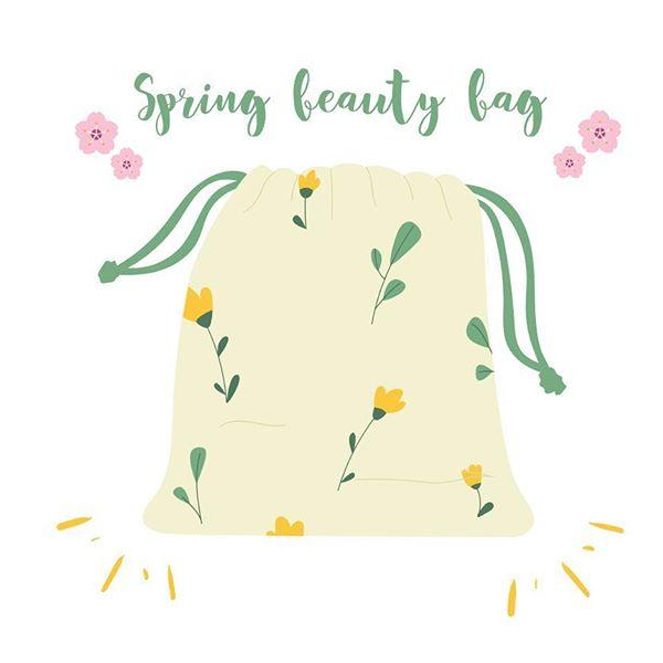 Spring Beauty Bag