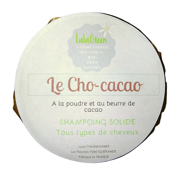 Shampoing solide Cho Cacao Lulugreen