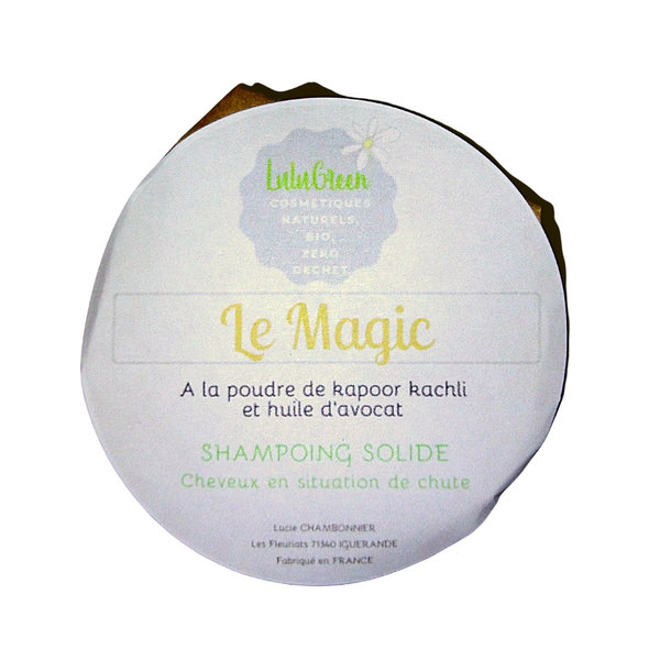 Shampoing solide Magic Lulugreen